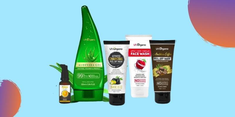 La Organo skin care products
