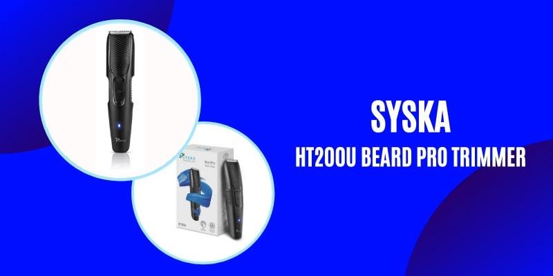 SYSKA HT200U Beard Pro Trimmer