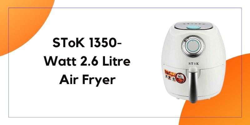 Stok 1350 Watt 2.6 Liter Air Fryer
