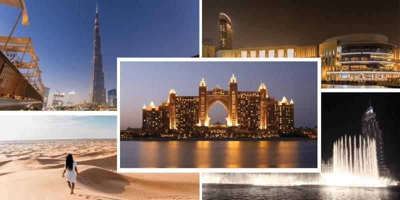 Must visit places in Dubai