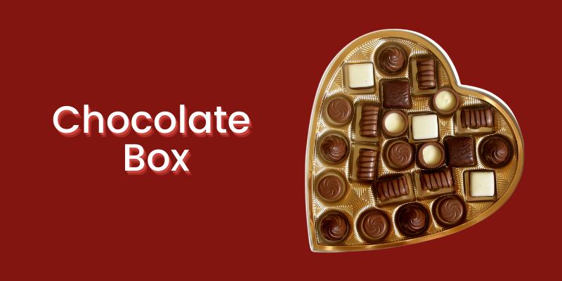 Chocolate Box: Christmas gift Ideas