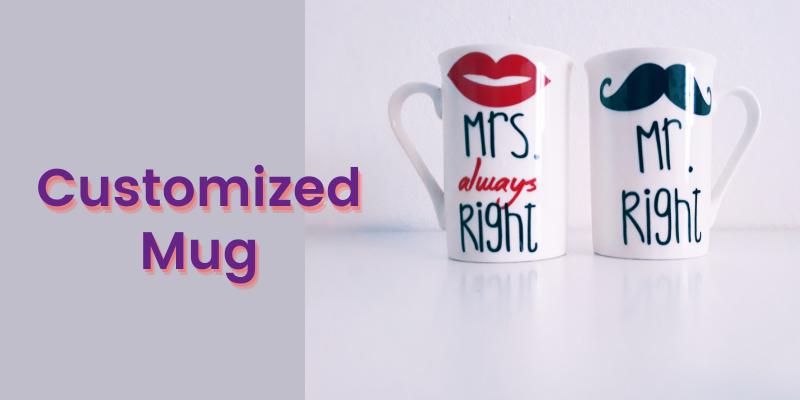 Customized Mug: Christmas gift Ideas