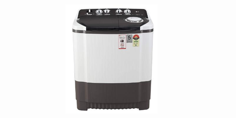 Best washing machine available under 15 K: LG Semi-Automatic Washing Machine 8kg (P9039r3sm)