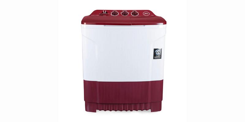 Godrej GWS 8502 PPL Semi-automatic Top-loading Washing Machine