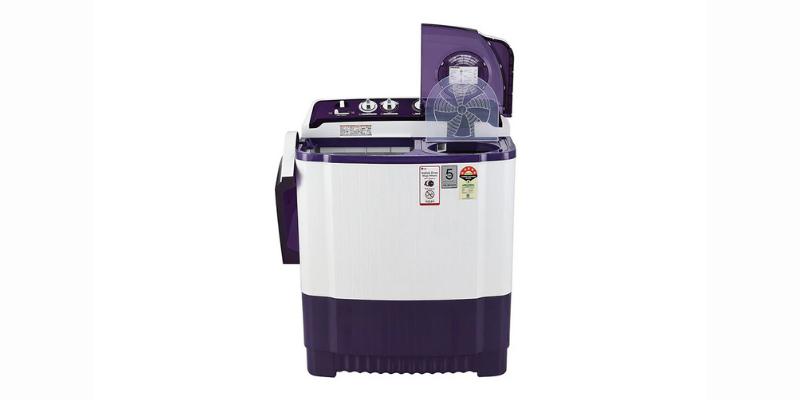Lg 8kg 5-Star Semi-Automatic Top-Loading Washing Machine – P8035spmz