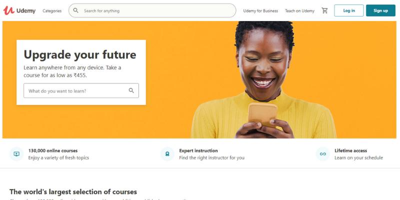 Udemy: online learning Platform