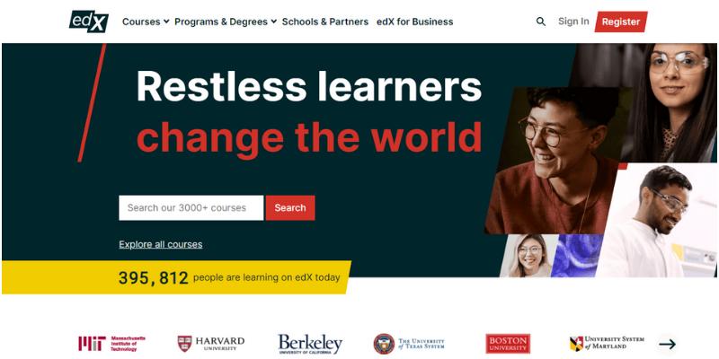 EDX: Best platform to learn new skills